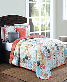 Belize 5 Pc Queen King Quilt Set