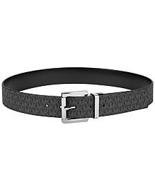 MICHAEL Michael Kors Plus-Size Reversible Signature Leather Belt