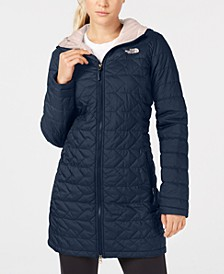 Women's Tamburello Quilted Water-Repellent Hooded Parka