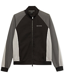 A|X Armani Exchange Men's Lightweight Colorblocked Jacket