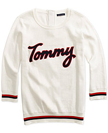 Tommy Hilfiger Women's Tommy Logo Sweater from The Adaptive Collection