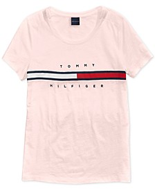 Women's Signature T-Shirt with Magnetic Closure at Shoulders