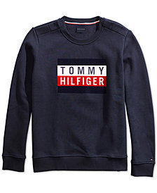 Tommy Hilfiger Electra Flag Sweatshirt from The Adaptive Collection