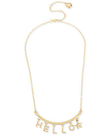 "BCBG Hello Collar Necklace, 16"" + 3"" extender"