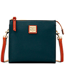 Dooney & Bourke Janine Pebble Leather Crossbody