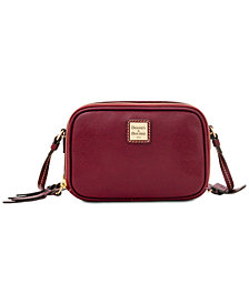 Dooney & Bourke Saffiano Leather Sawyer Crossbody