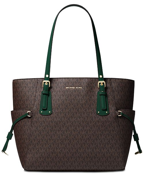 ce1636a77988 Michael Kors Voyager East West Signature Tote   Reviews ...