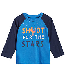 First Impressions Toddler Boys Stars-Print Cotton T-Shirt, Created for Macy's