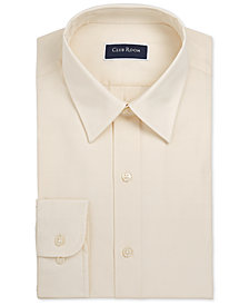 Club Room Men's Slim-Fit Solid Dress Shirt, Created for Macy's