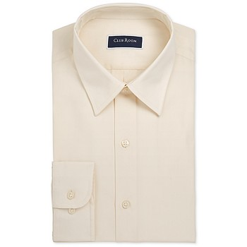 Club Room Men's Slim-Fit Solid Dress Shirt