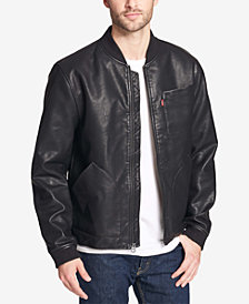 Levi's® Men's Faux-Leather Depot Jacket