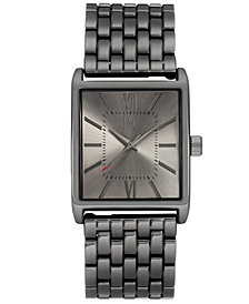I.N.C. Men's Gunmetal Bracelet Watch 44.5mm, Created for Macy's