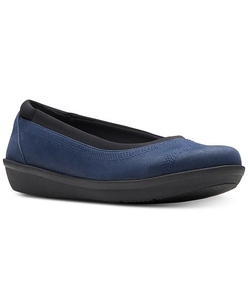 91f89459a Clarks Collection Women's Ayla Low Flats; Clarks Collection Women's Ayla  Low ...