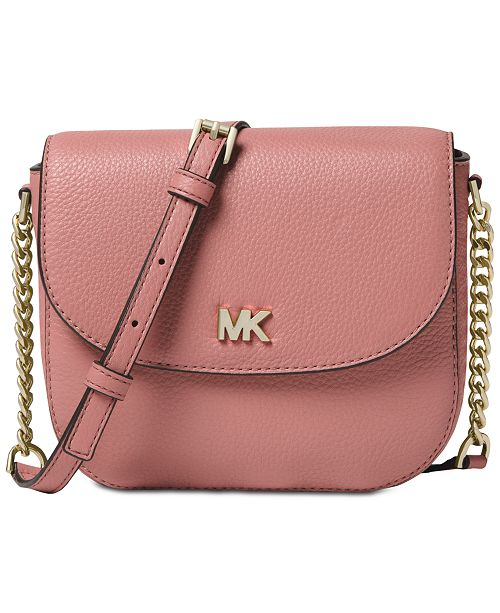 Michael Kors Pebble Leather Half Dome Crossbody   Reviews - Handbags ... 856b8e42663e5