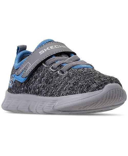 d89bede98f9c ... Skechers Toddler Boys  Comfy Flex - Easy Pace Athletic Running Sneakers  from Finish ...