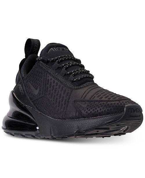 hot sale online 6170c 3cbc2 Nike Boys' Air Max 270 SE Casual Sneakers from Finish Line ...