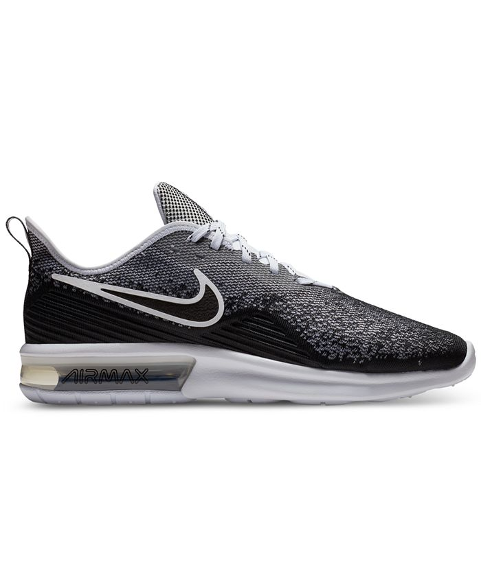 Nike Men's Air Max Sequent 4 Running Sneakers from Finish Line ...