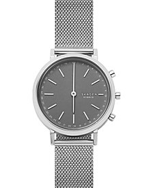 Skagen Women's Mini Hald Stainless Steel Mesh Bracelet Hybrid Smart Watch 34mm