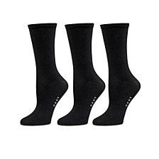 DKNY Flat Knit Crew Socks 3 pk
