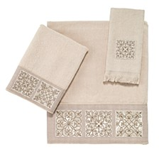Ironwork Embroidered Hand Towel