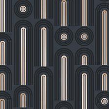 Tempaper Novogratz for Tempaper Wave Pop Self-Adhesive Wallpaper