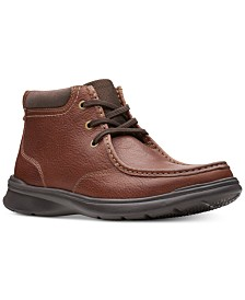 Clarks Men's Cotrell Top Leather Chukka Boots