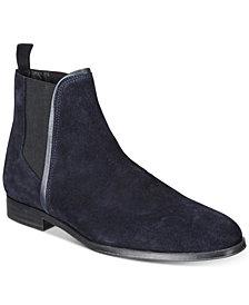 HUGO Men's Boheme Suede Chelsea Boots