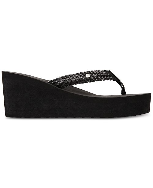 e907c851a5d8a5 Roxy Mellie II Wedge Sandals   Reviews - Sandals   Flip Flops ...