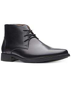 26414d876836 Clarks Men's Tilden Top Waterproof Dress Chukka Boots