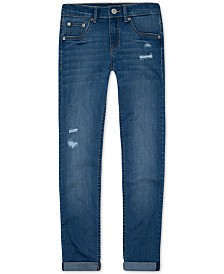 Levi's® Distressed Girlfriend Jeans, Big Girls (7-16)
