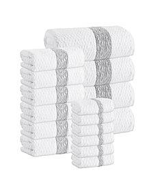 Enchante Home Anton 16-Pc. Turkish Cotton Towel Set