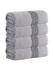 Enchante Home Anton 4-Pc. Bath Towels Turkish Cotton Towel Set