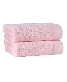 Enchante Home Signature 2-Pc. Bath Sheets Turkish Cotton Towel Set