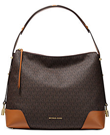 Michael Kors Crosby Signature Shoulder Bag