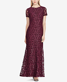 Lauren Ralph Lauren Lace Gown