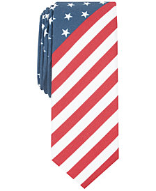 Penguin Men's Austin Stars & Stripes Skinny Tie
