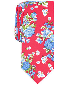 Penguin Men's Kamla Floral Skinny Tie