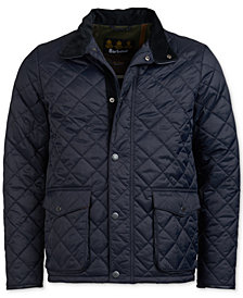Barbour Men's Evanston Quilted Jacket, A Sam Heughan Exclusive, Created for Macy's