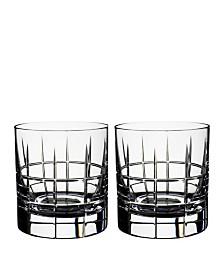 Orrefors Street Whiskey, Set of 2