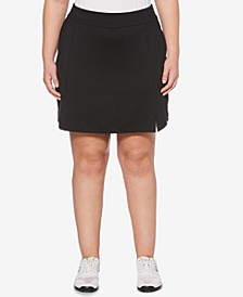 Plus Size Performance Golf Skort