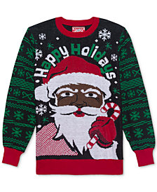 Santa Men's Holiday Sweater