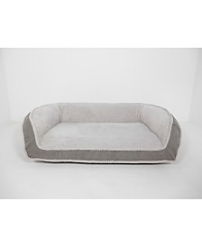 Arlee Deep Seated Lounger Sofa and Couch Style Pet Bed, Small