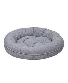 Arlee Donut Lounger and Cuddler Style Pet Bed, Large