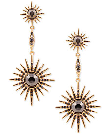 GUESS Stone Starburst Drop Earrings