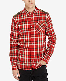 Buffalo David Bitton Men's Regular Fit Plaid Shirt