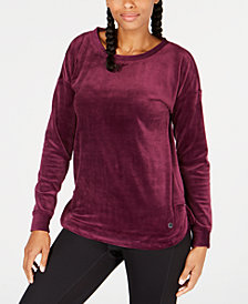 Ideology Velour Top, Created for Macy's