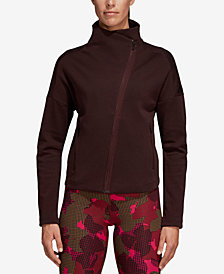 adidas Heartracer Asymmetrical-Zip Jacket