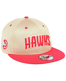 New Era Atlanta Hawks Champagne 9FIFTY Snapback Cap