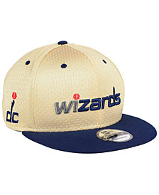 New Era Washington Wizards Champagne 9FIFTY Snapback Cap