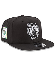 New Era Boston Celtics Anniversary Patch 9FIFTY Snapback Cap